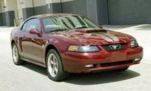 2004 Ford Mustang GT 40th Anniversary Edition 2-door coupe (485)