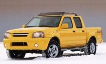 2001 Nissan Frontier Supercharged Super Crew 4X4 Pickup (342)
