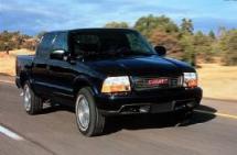 2001 GMC Sonoma Crew Cab 4X4 Pickup (358)