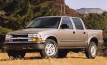 2001 Chevrolet S10 Crew Cab (318)