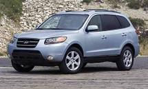 2007 Hyundai Santa Fe Limited AWD SUV. (660)