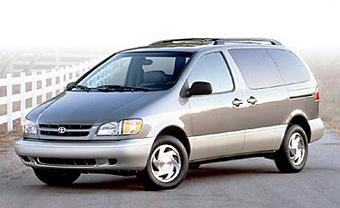 1999 Toyota Sienna LE (221)