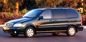 2002 Kia Sedona Mini Van (363)