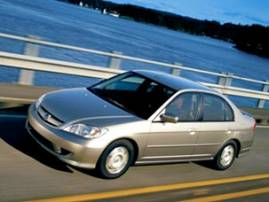 2004 Honda Civic 4-door Hybrid (486)