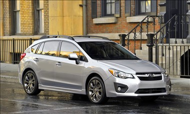 2012 Subaru Impreza 5-Door: Less is More (903)