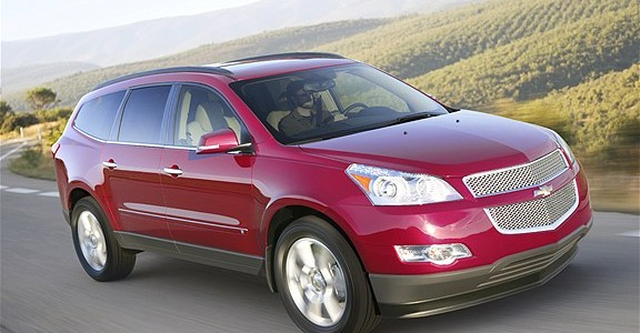 2013 Chevrolet Traverse AWD LTZ (959)