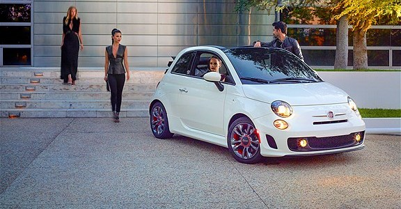 2014 Fiat 500 C Abarth Cabrio GQ Edition (1048)