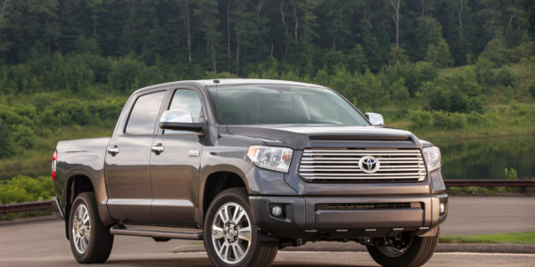 Toyota Tundra with Chief Engineer