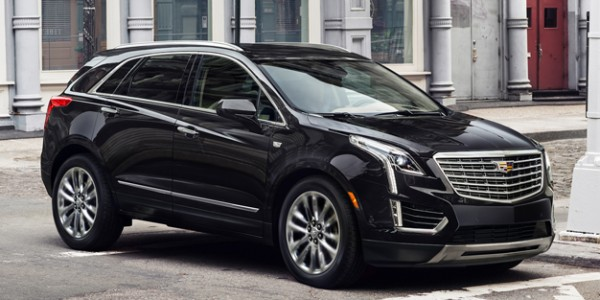 2017 Cadillac XT5 compact luxury crossover