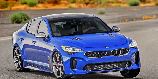 Kia launches all-news 2018 Stinger sedan