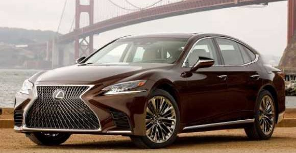 2018 Lexus LS 500 4-door Sedan