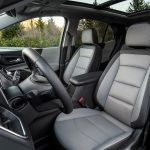 The all-new 2018 Equinox features a fashion-forward interior with materials developed for easier everyday use.